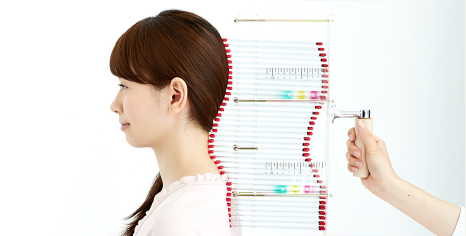後頭部測定のイメージ
